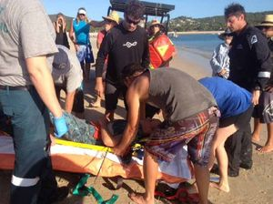 Close call for Yeppoon spearfisherman shot through the chest
