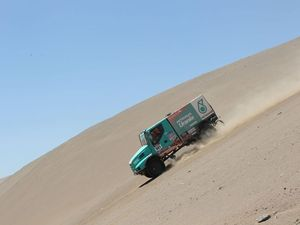 Iveco Dakar 2014 - stages 9-10