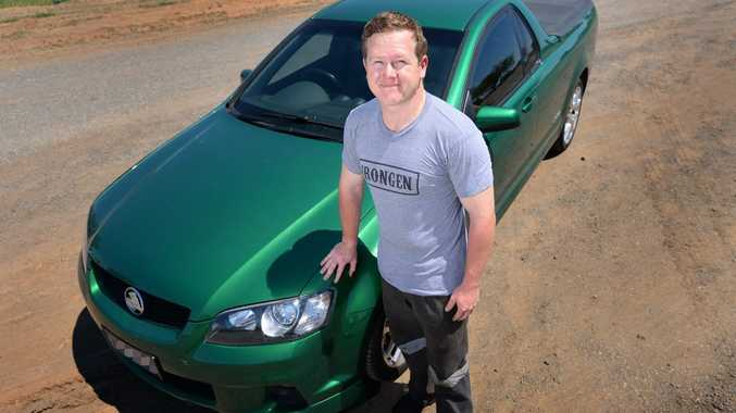 Jacob Williamson was the victim of a form of identity theft when someone copied his licence plates and then used a similar car to fuel up without paying. Photo: Chris Ison / The Morning Bulletin