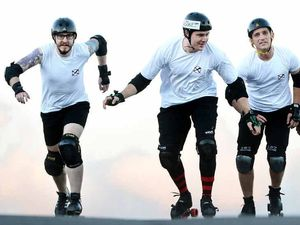 Ipswich men answer call-up for Roller Derby World Cup