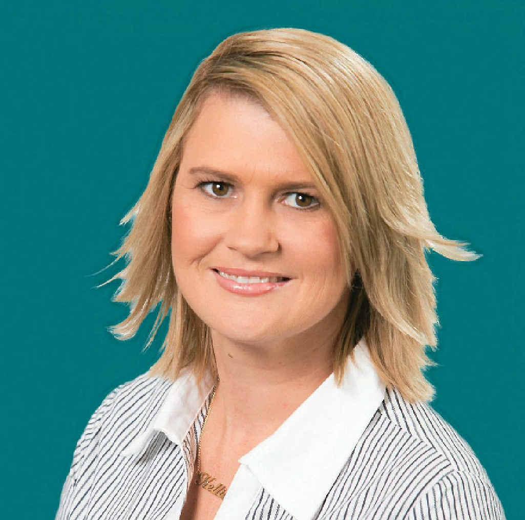 Gladstone Mortgage Choice Limited franchisee manager Kellie Bebendorf.