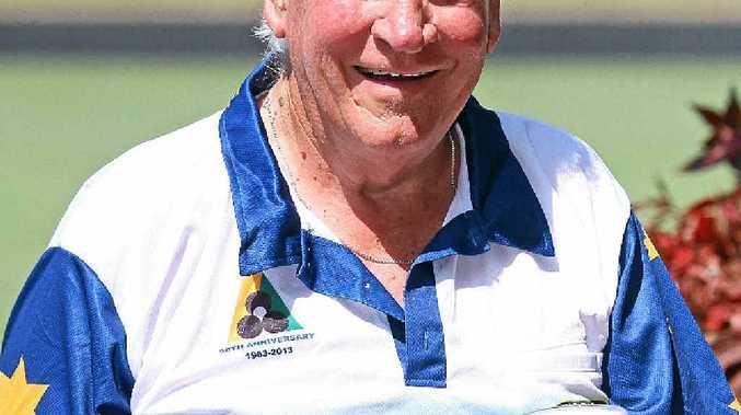 ALLROUNDER: Pacific Paradise bowls club member and former VFL player, David Prescott.