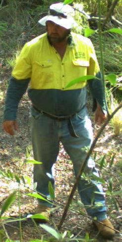 Police want to speak to this man seen on CCTV in the Bunya Mountains National Park.