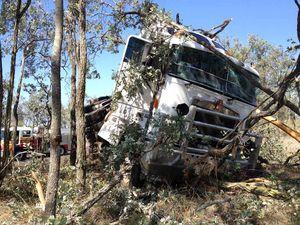 VIDEO: Police say fatigue possible factor in truck crash