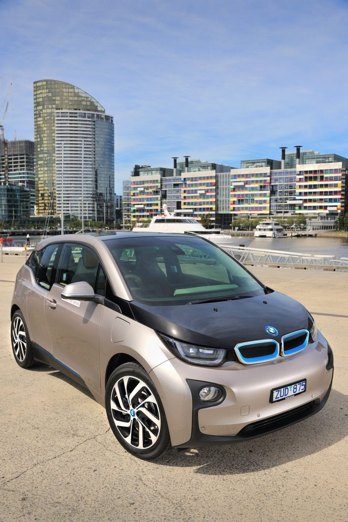 BMW i3: economic and brimming with appeal.