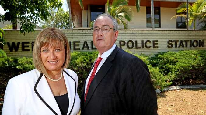 Justine Elliot federal member for Richmond with Walt Secord shadow minister for the north coast call for more police on the north coast.