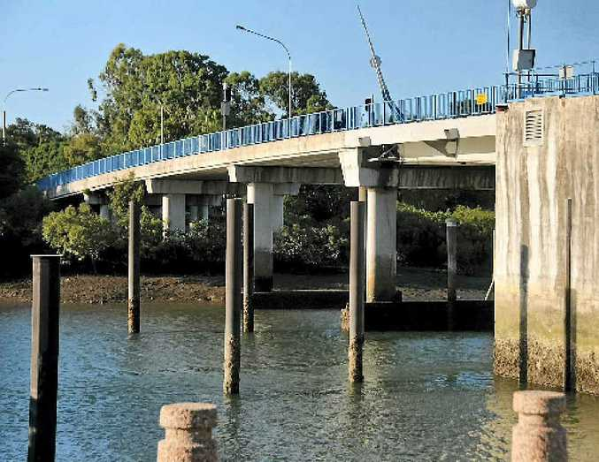 The Matthew Flinders Bridge to the Gladstone Marina will be closed to all traffic and pedestrians for five days.