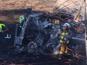 Truck driver killed in fiery crash was from Toowoomba