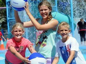 Have fun on Australia Day with free Chronicle beach ball
