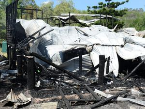 Woman in hospital after fire destroys Mt Perry home
