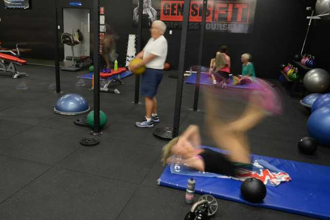 Genesis gym in Tweed Heads has been revamped.