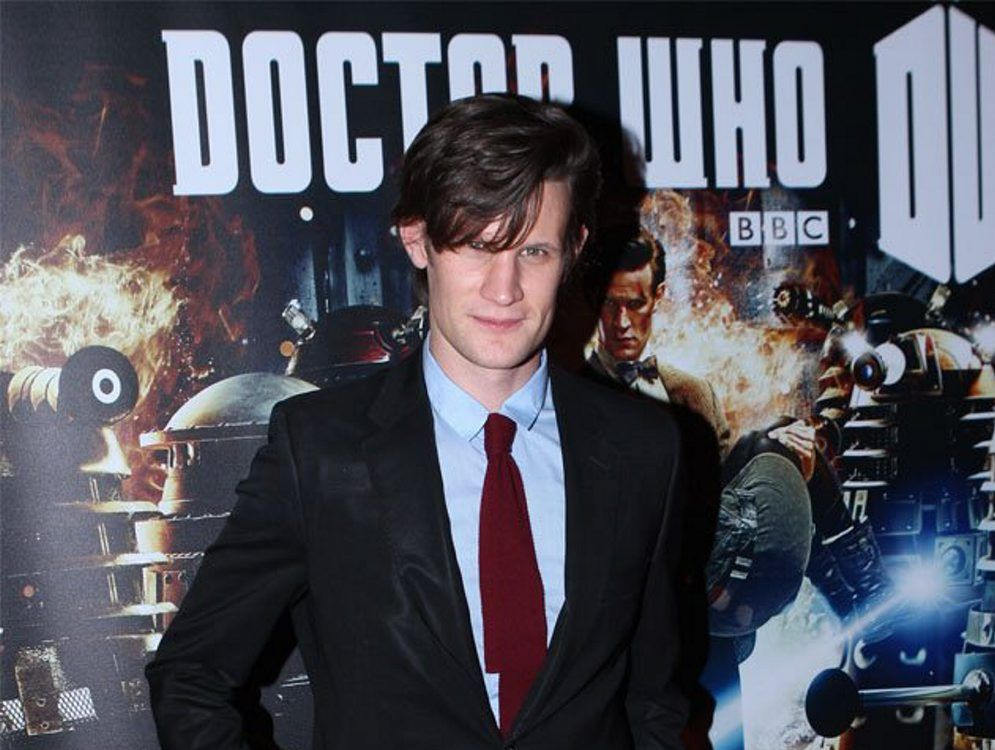 Matt Smith, the current Doctor Who.