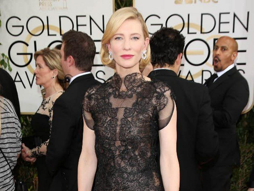 Reports Cate Blanchett has a new tattoo.