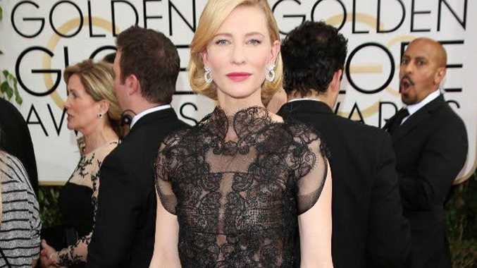 Cate Blanchett admitted she was drunk when she accepted her Golden Globe Award.