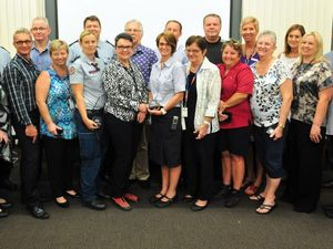 Wide Bay health staff honoured for efforts in 2013