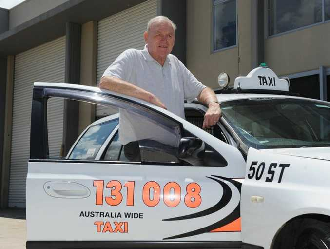 Hervey Bay Taxis general manager Gordon West.