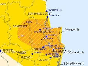 Heavy rainfall warning cancelled for south-east Queensland