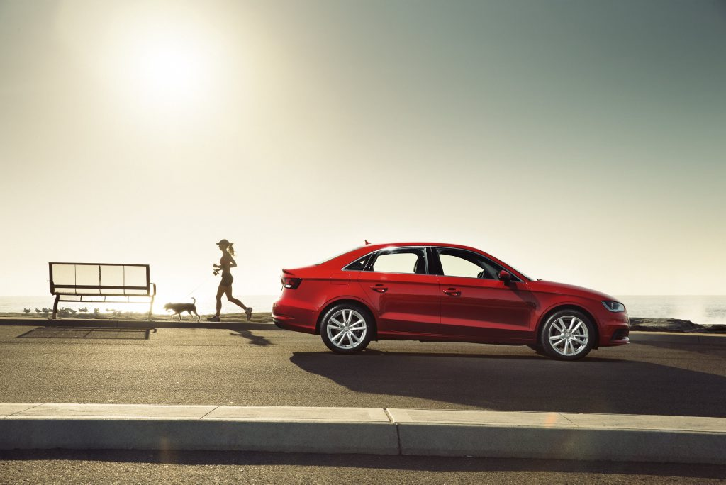 The all-new Audi A3 Sedan.