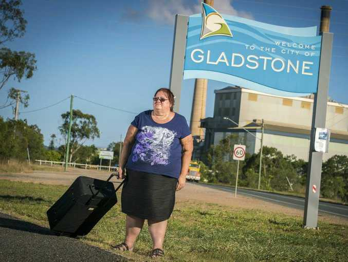 NOT HAPPY: Gail Totten is unhappy with Gladstone's cost of living.