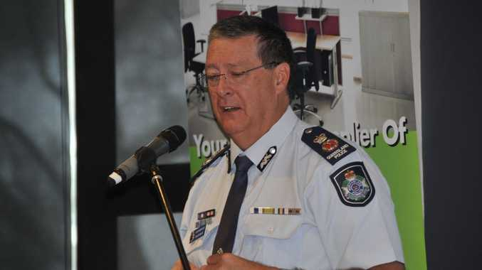 Queensland Police Commissioner Ian Stewart