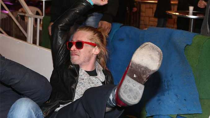 Macaulay Culkin's dad has suffered a massive stroke and is hoping to reconnect with his estranged son.