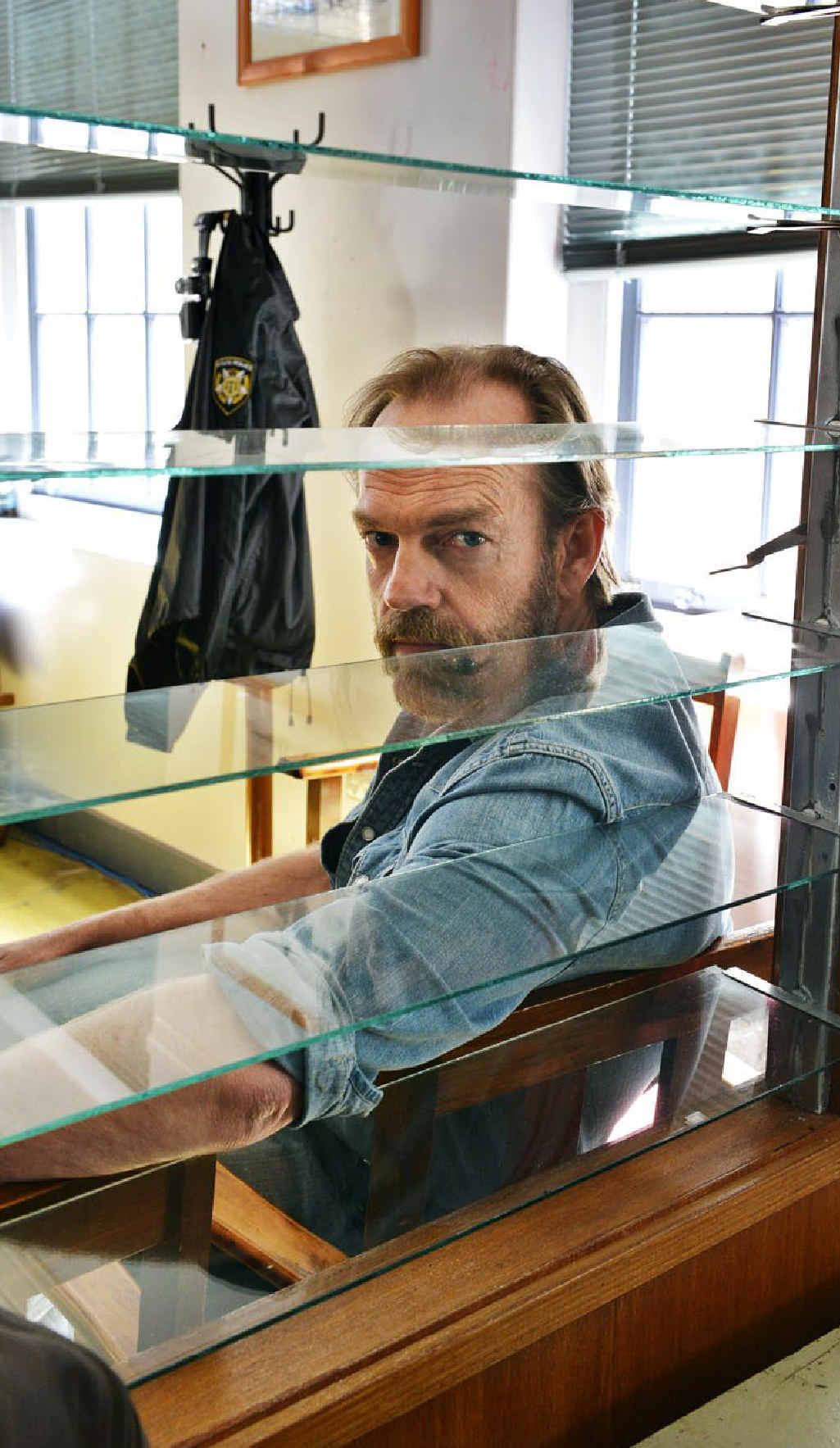 Hugo Weaving plays a police detective in Ivan Sen's thriller Mystery Road.