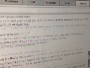 Justin Bieber search results flood in after drink driving charge