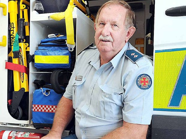HEARD IT ALL: Danny Palmer has fielded many unusual requests during emergencies.