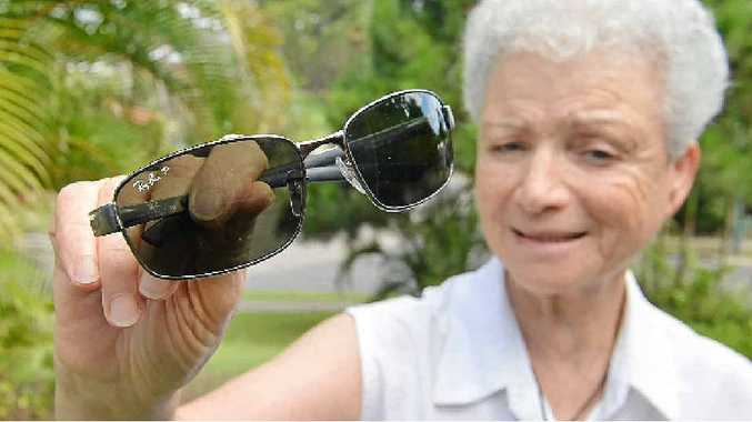 ARE THESE YOURS? Rose Kempster is looking for the owner of the sunglasses left in her car.