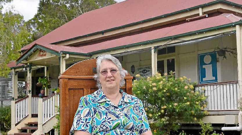 TOWN ENCYCLOPEDIA: Amy 'Pat' Cordwell, outside Yandina'a Historic House, has been awarded an OAM.