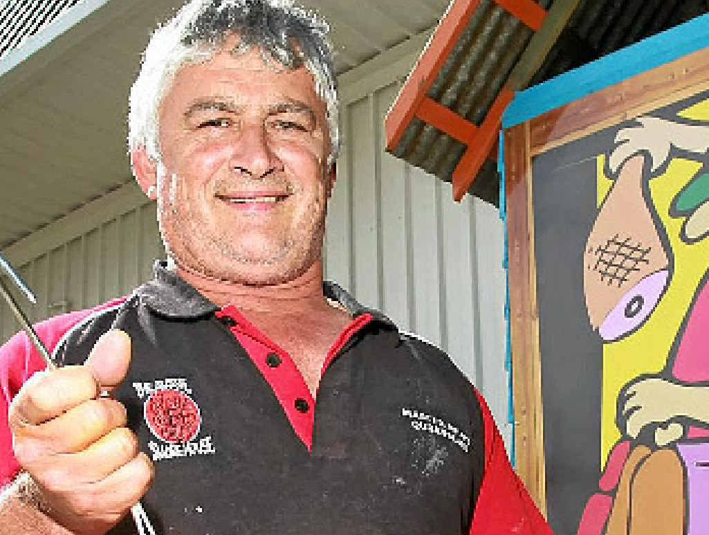 BARBIE KING: Sausage master Rob Glenny has one piece of advice.