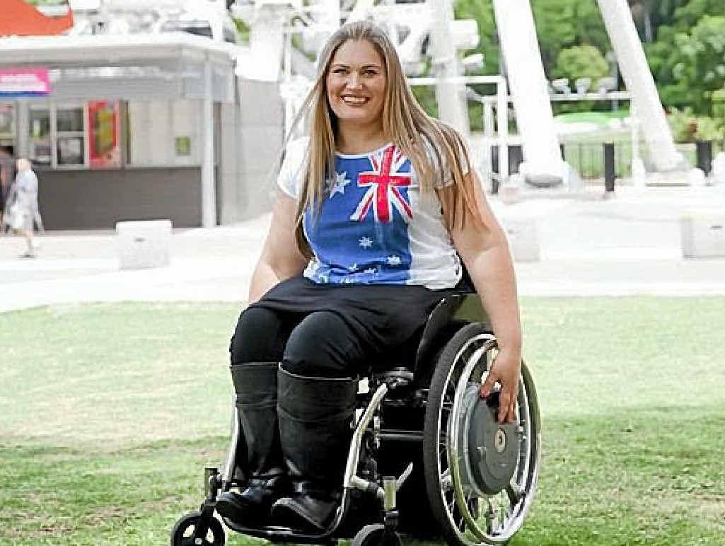 LOVES THE DAY: Sunshine Coast swimmer Marayke Jonkers will be an Australia Day ambassador.