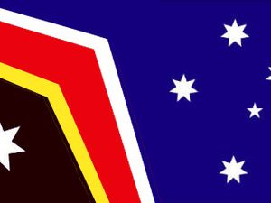 Cartoonist's take on Australian flag