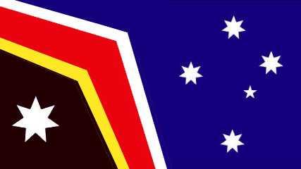 Cartoonist Peter Broelman has shared his vision of the Australian flag.