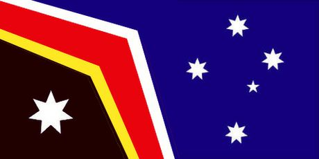 Cartoonist Peter Broelman has shared his vision of the Australian flag.