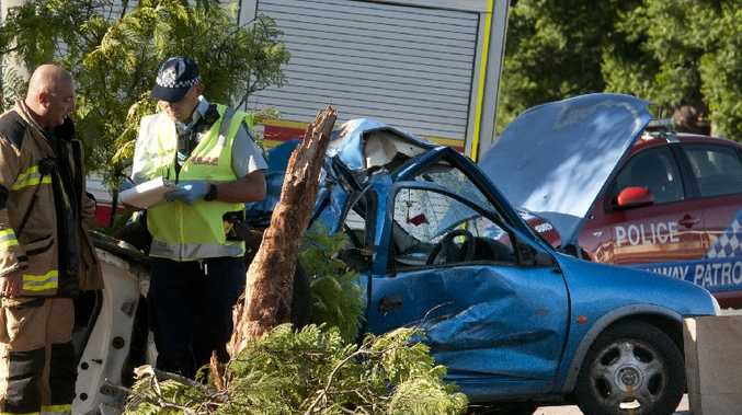 The crash in Toowoomba that killed a newlywed couple on Australia Day.