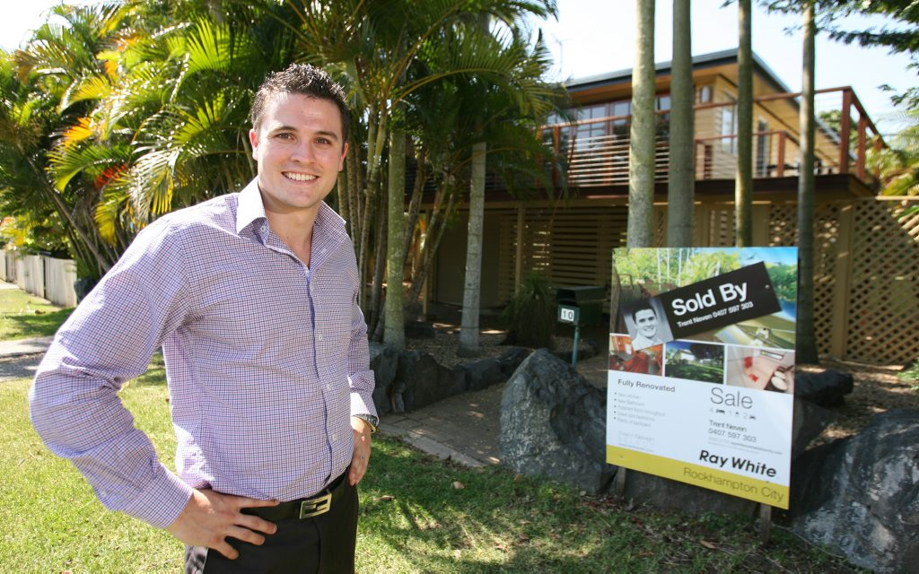 Ray White Rockhampton City sales agent Trent Neven