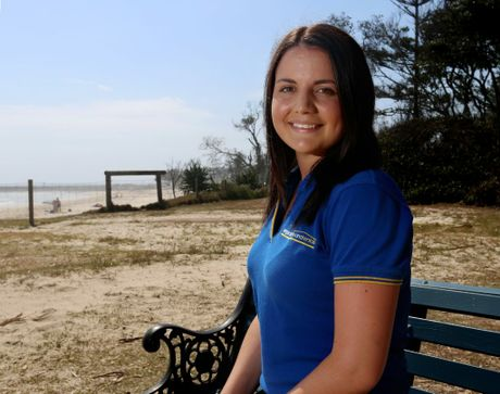 Ema Marks won the award for Young Achiever in Community Service.