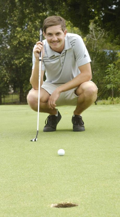 Lismore Workers Golf Club's Brenton Parrish is preparing to test his skills against some of the best trainee pros from across the country. Photo Stuart Turner / The Northern Star