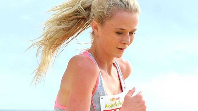 STANDING TALL: Karlie Swanson has qualified for the Australian All Schools Athletics Championships.