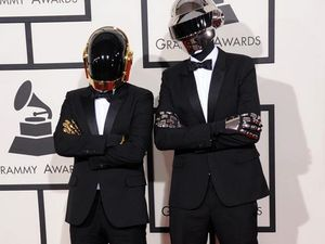 Daft Punk scoop the pool at the Grammy Awards