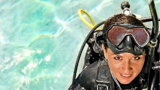 Dive instructor Tegan Crandall hasn't looked back since becoming an instructor three years ago.