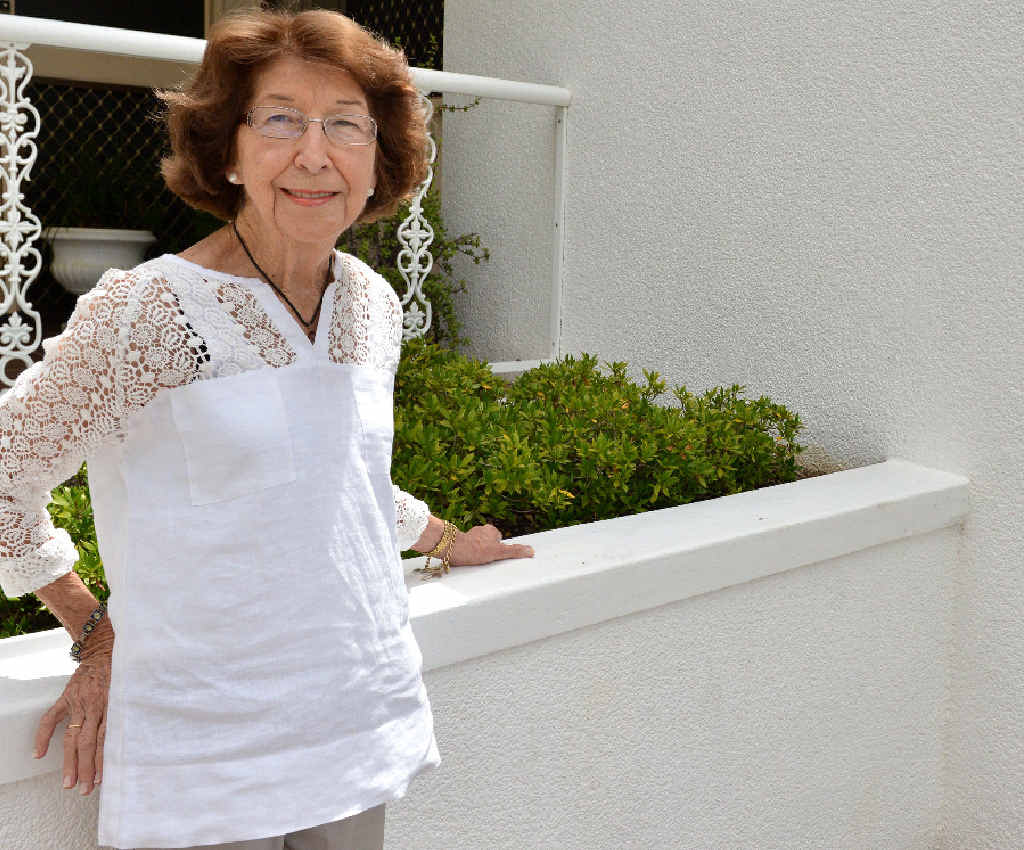 HUMBLED: Long-time community volunteer Shirley Bishop was named on Australia Day as an OAM awardee.