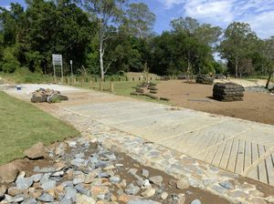 New and improved look for park ruined by floods