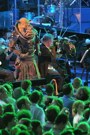 A scene from the Doctor Who Symphonic Spectacular in the UK. Supplied by Kath Rose Publicity. Please credit photo to Chris Christodoulou.