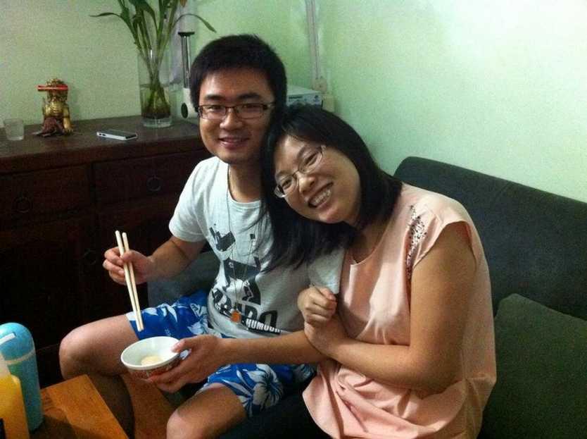 Calvin Zhou and Grace Cai.