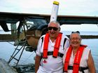 Seaplane joy flights prove popular during the long weekend