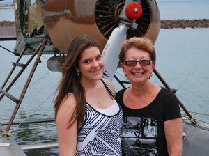 Seaplane joy rides