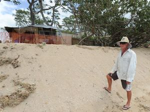 Will sandbagging be enough to protect dunes at Torquay?