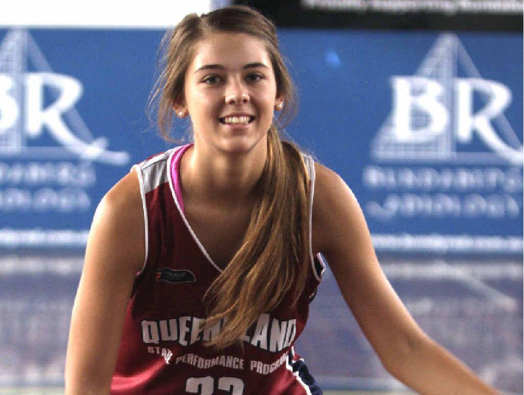 BUNDABERG BASKETBALL: Bundaberg's Ashley Frampton has been selected to play in the U18 Queensland North Basketball Team.